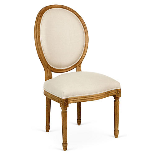 Octavia Side Chair, Ivory