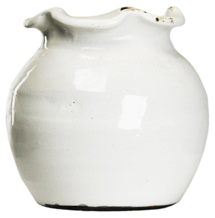 """8"""" Wave-Top Vase"""