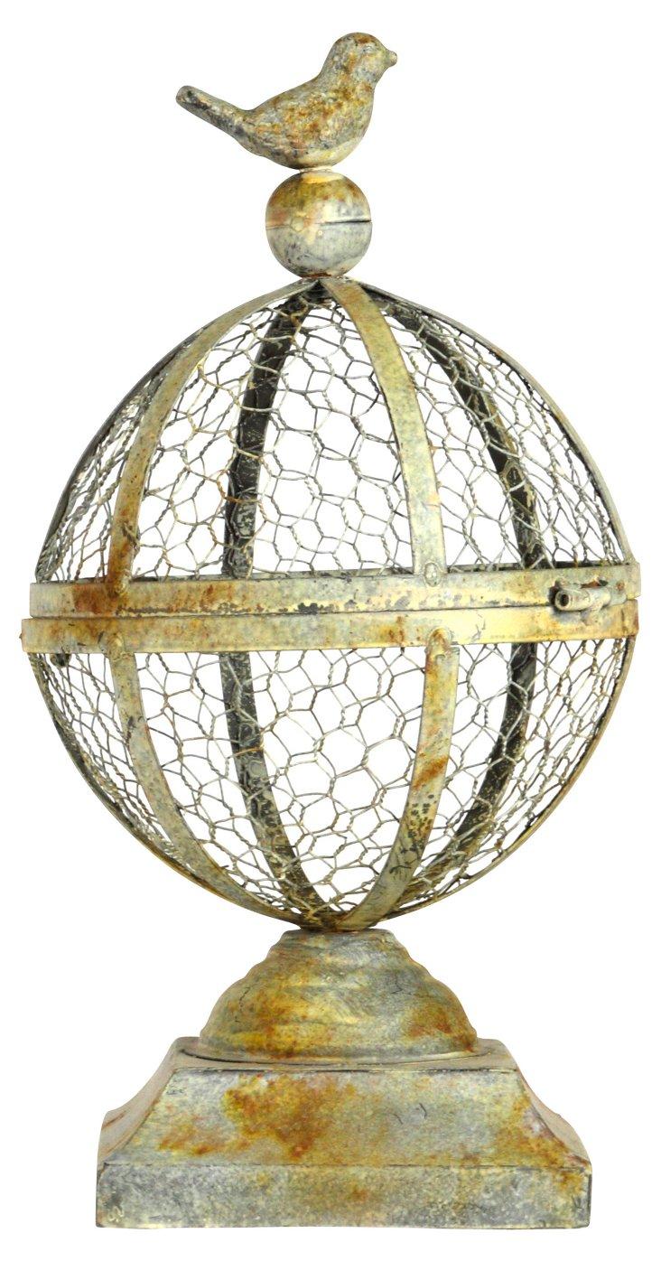 """15"""" Globe Birdcage"""