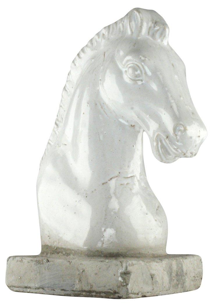 """13"""" Ceramic Horse Head"""