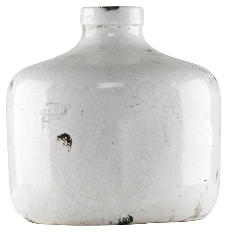 "12"" Crackled Ceramic Jug"
