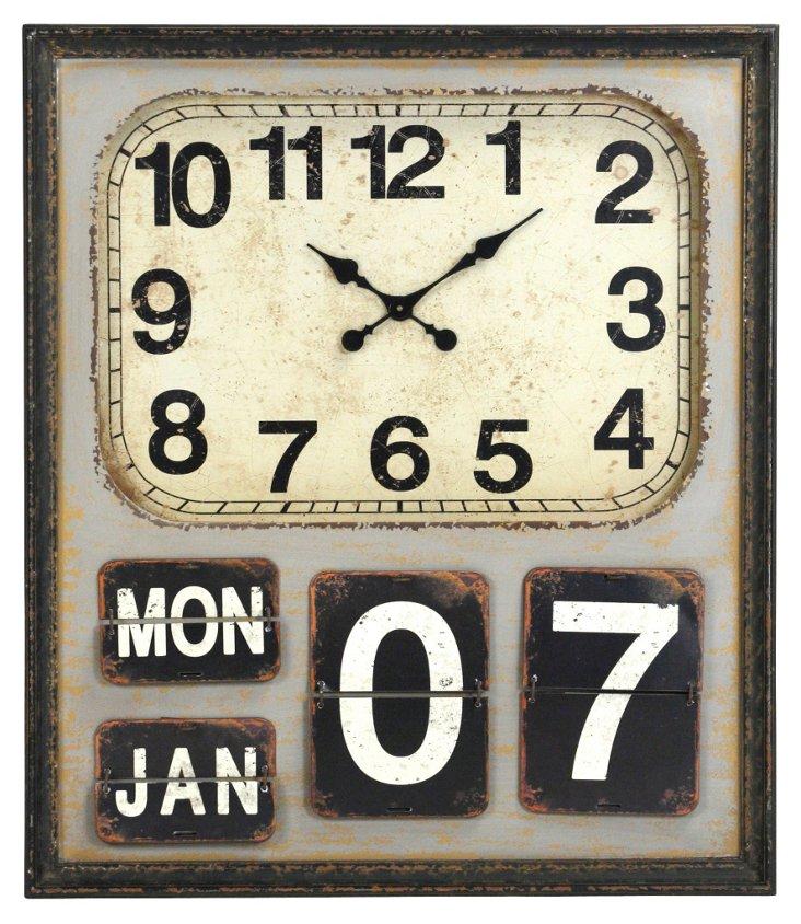 "35"" Charlotte Clock"