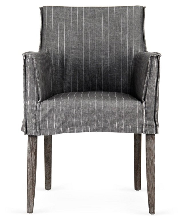Domain Armchair, Charcoal