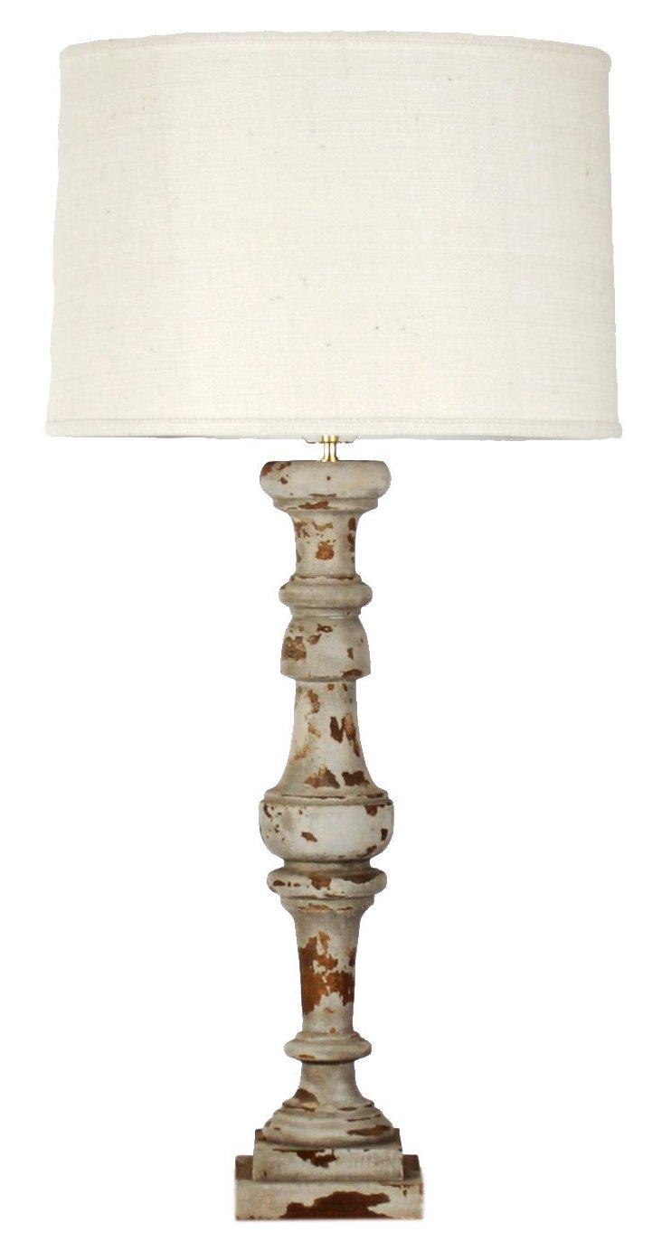 Agatha Wooden Lamp