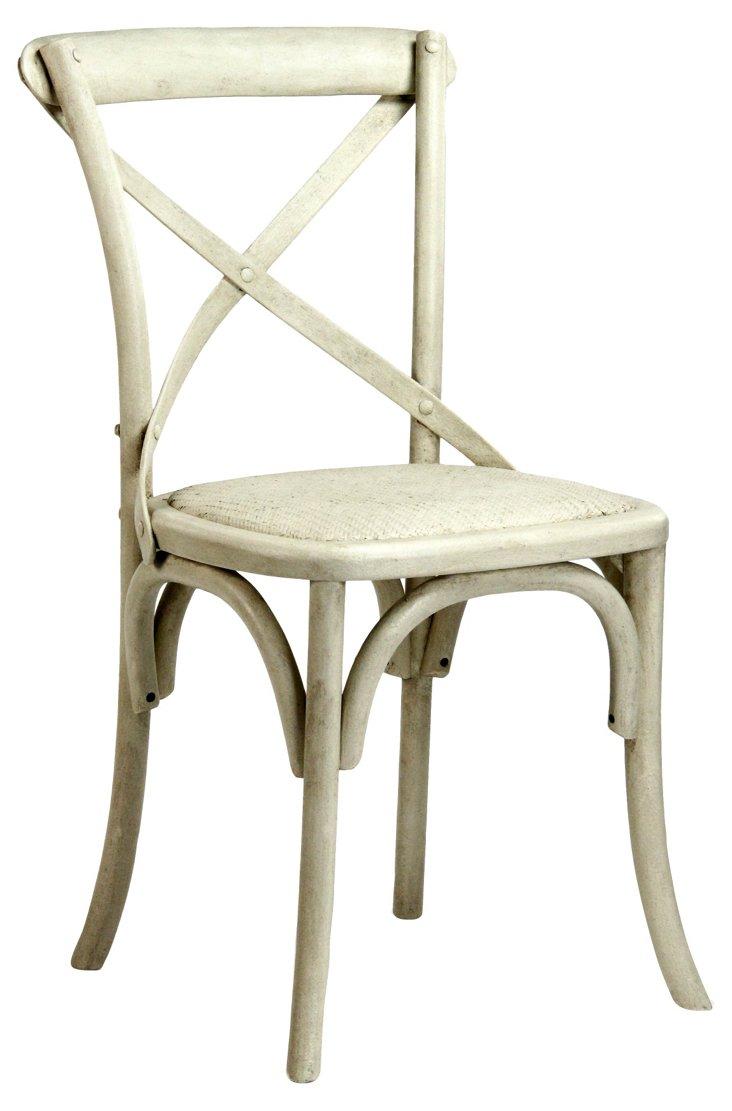 Parisienne Cafe Chair, Cream