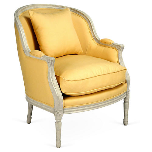 Roland Chair, Yellow