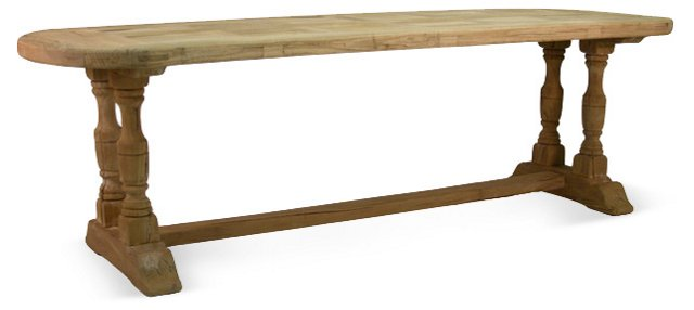 """Addy 99"""" Dining Table"""