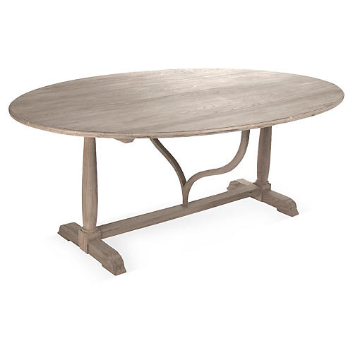 """Iris 80"""" Collapsible Dining Table"""