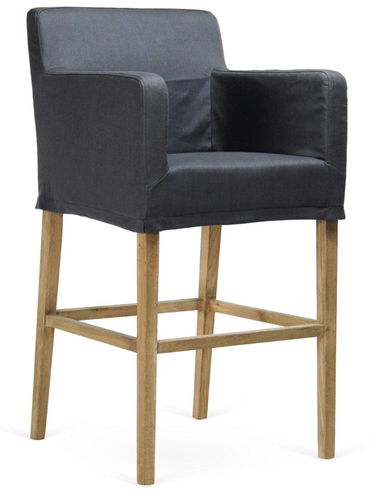 Eden Slipcovered Barstool