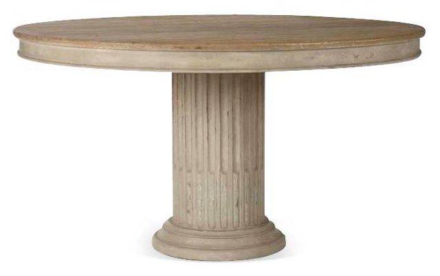 "Carmela 55"" Round Dining Table"