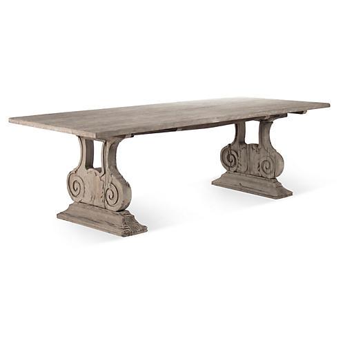 "Lara 98"" Ionic Dining Table"
