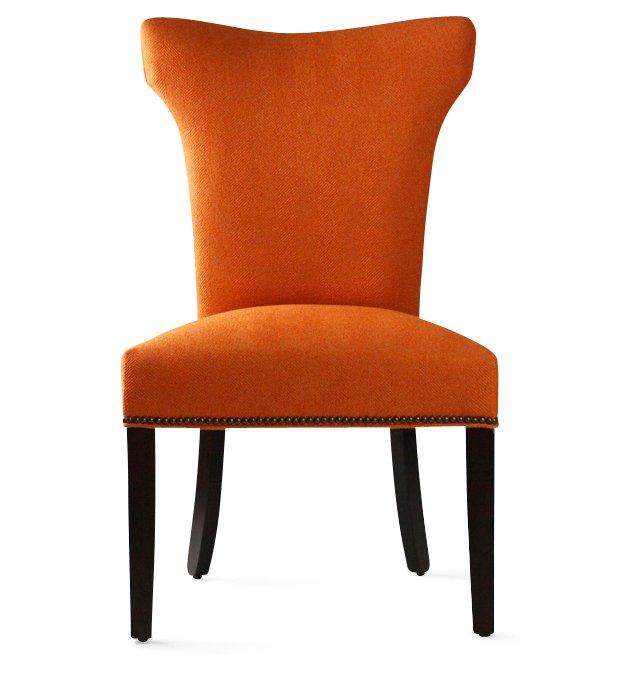 Layla Side Chair, Orange