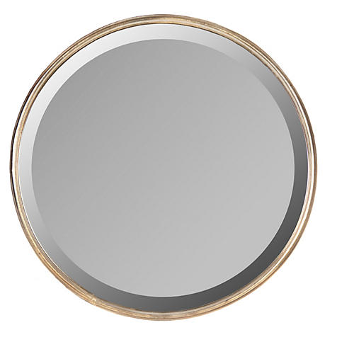 Jasper Wall Mirror, Light Bronze