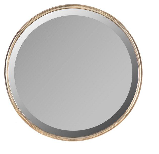 Jasper Wall Mirror, Light Bronze