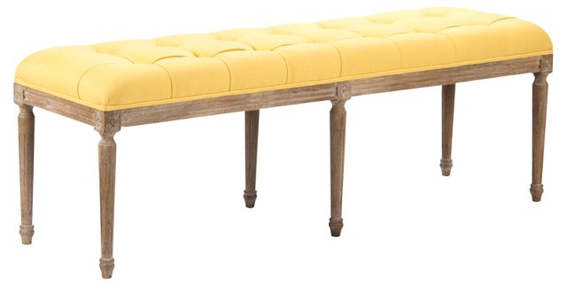 Sophia Tufted Bench