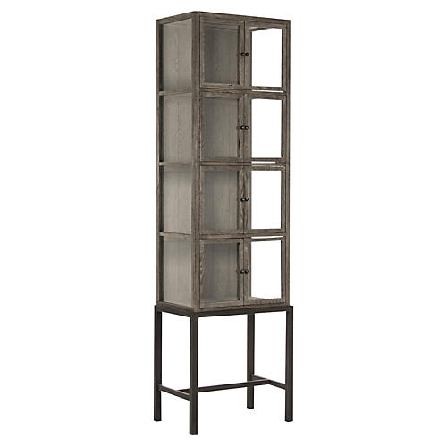 Morgan Cabinet, Antiqued Natural