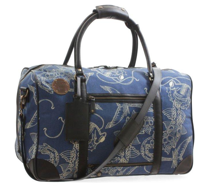 Nash Weekender Bag, Dragon Fish