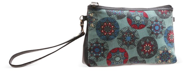 Cosmetic Pouch, Celing Print