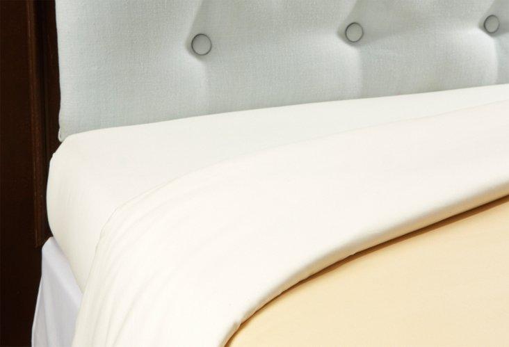 Kg Tiepolo Reversible Duvet, Peach/Ivory
