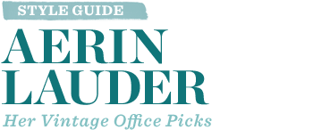 Style Guide: Aerin Lauder