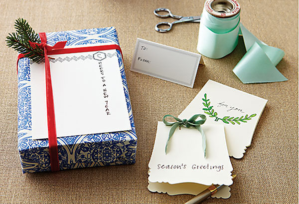Christmas Gift Tags Ideas.Chic Gift Tag Ideas One Kings Lane Our Style Blog