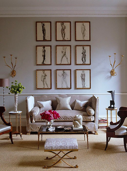 8 ideas for adding impact above your sofa one kings lane Over the sofa wall decor ideas