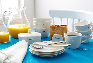 Keith Brymer Jones Dinner Ware and Kitchen Accessories
