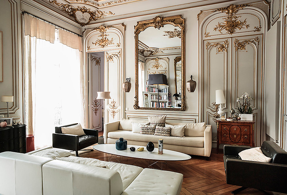 Gilded Glamour The Parisian Apartment