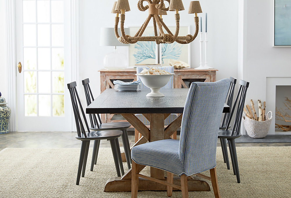 Bring In The Beach. A Sea Inspired Dining Room
