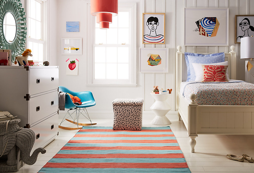 kids room one kings lane rh onekingslane com Pottery Barn Kids kids room picture wall
