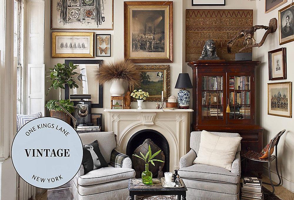 Vintage Decor One Kings Lane Home