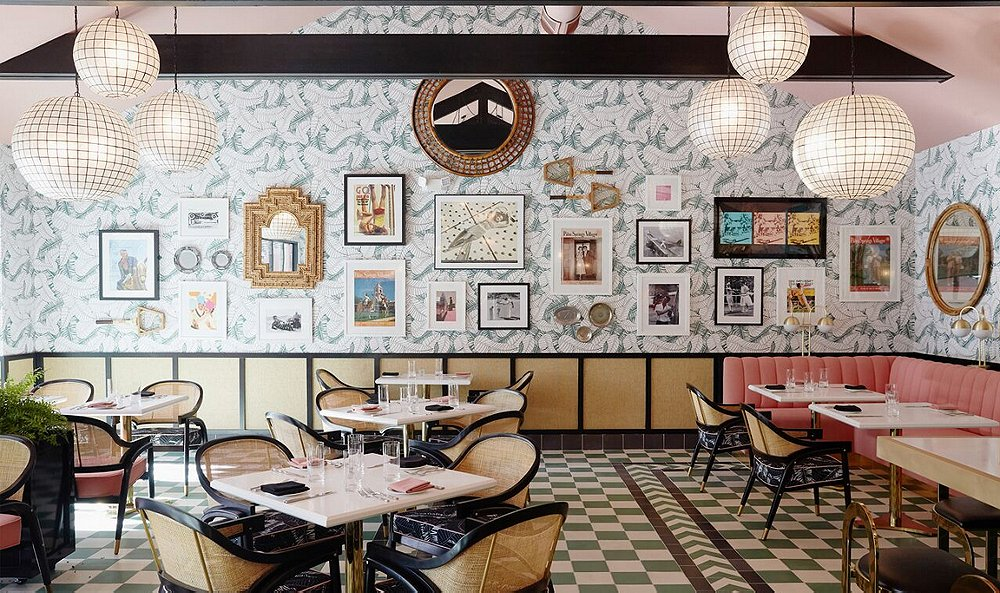 Inside a Hip California Eatery Designed by Martyn Lawrence Bullard