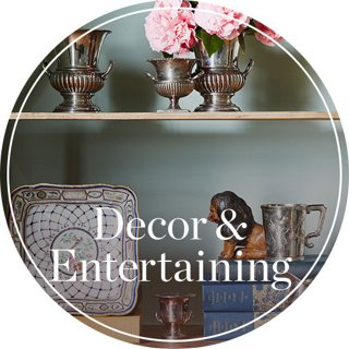 Decor & Entertaining Header Image