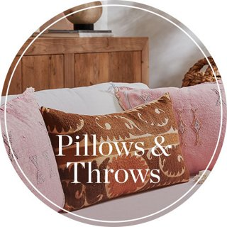 Pillows & Throws Header Image