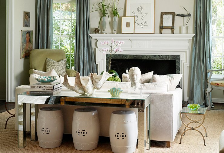 Decorating With Garden Stools One Kings Lane Our Style Blog