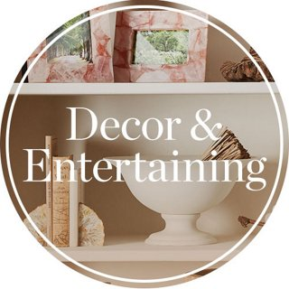 Decor & Entertaining Header Image