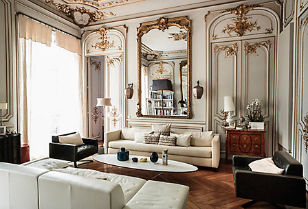 Parisian Chic. One Kings Lane   Home Decor   Luxury Furniture   Design Services