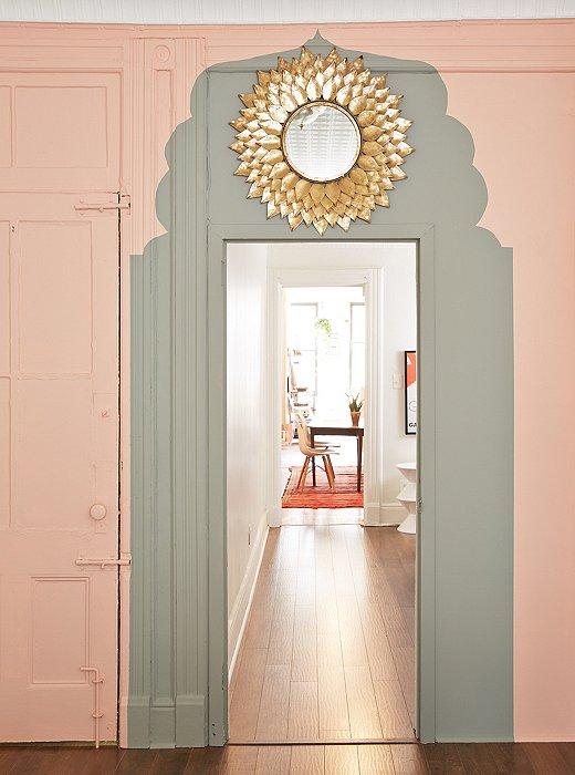 create a morocco inspired diy painted door one kings lane