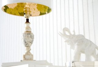 Easy Decorating Projects: How to Make a Pretty Lamp Shade