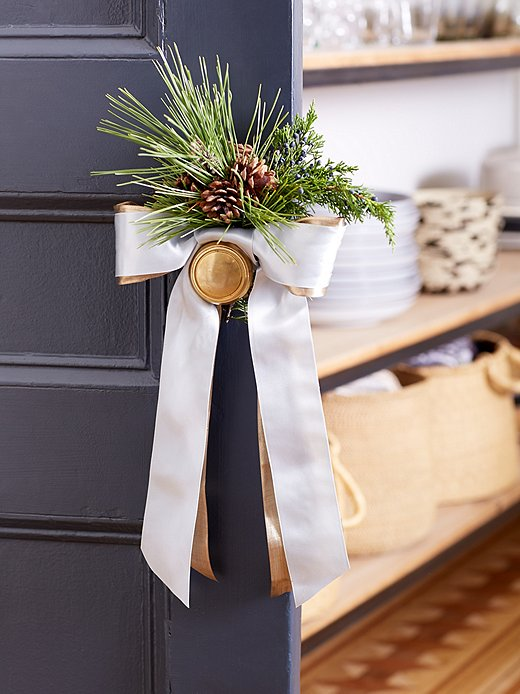 Bring festive spirit to any spot with our easy greenery DIYs.