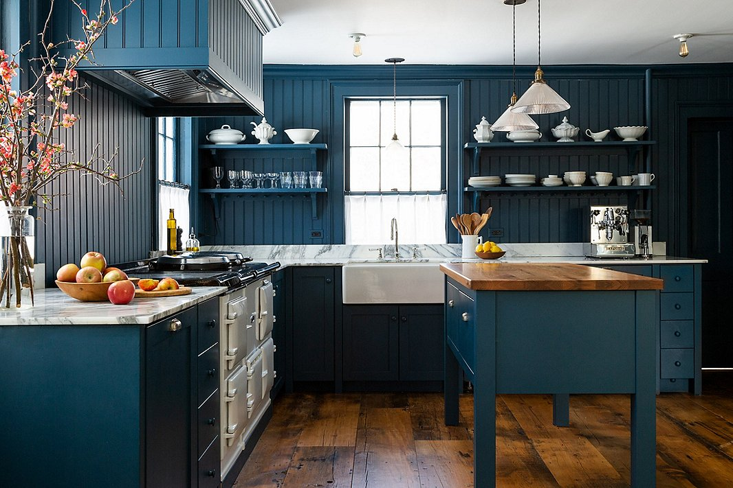 """Keren searched for the perfect Aga stove for a year. The oven is indestructible, she says: """"I've heard British families pass them down to subsequent generations."""""""