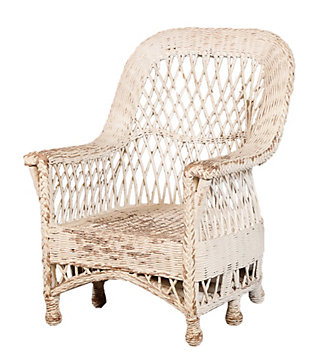 Wicker and Wrought Iron Furniture - Home Decor