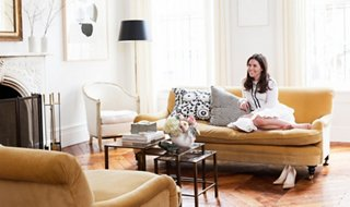 Delightful Tour Alison Cayneu0027s Stunning West Village Townhouse