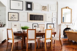 Alison Swapped A Piece Of Art For Her Best Friendu0027s Dining Table, Which  Perfectly Complements