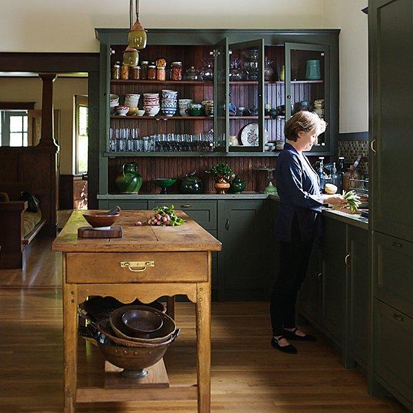 Alice in her home's kitchen in Berkeley, CA
