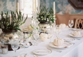 14 Dazzling Tables & 14 Gorgeous Holiday Table Settings - Our Style Blog - One Kings Lane