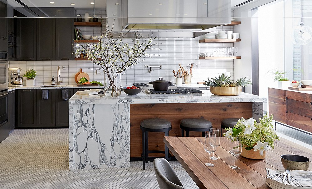 A peek inside the dream kitchen of bon appetit magazine for Dream bedroom and kitchen designs