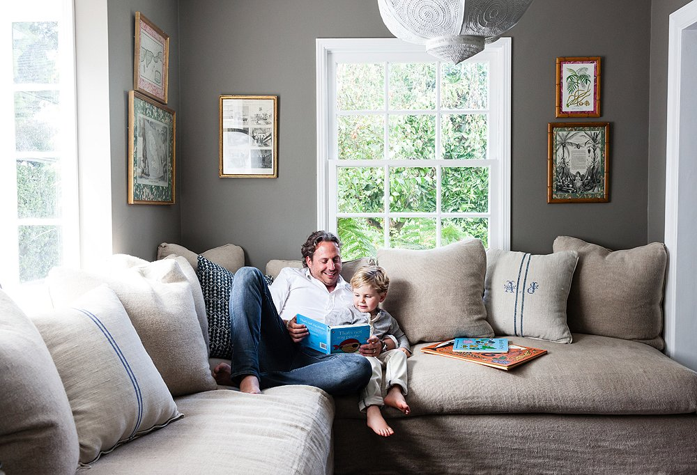 Inside Jason Chaunceys Picture Perfect Family Home