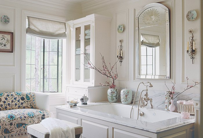 Decorating questions answered one kings lane style blog for Master bathroom fixtures