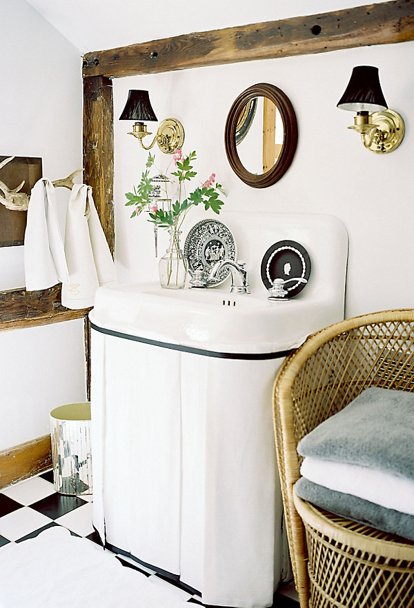 This Easy Project Gives Your Bathroom A Pretty Facelift While Also Creating A Home For Toiletries And Other Necessities